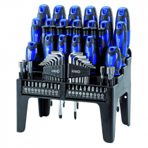 69PC S.DRIVER SET+STAND BLUE
